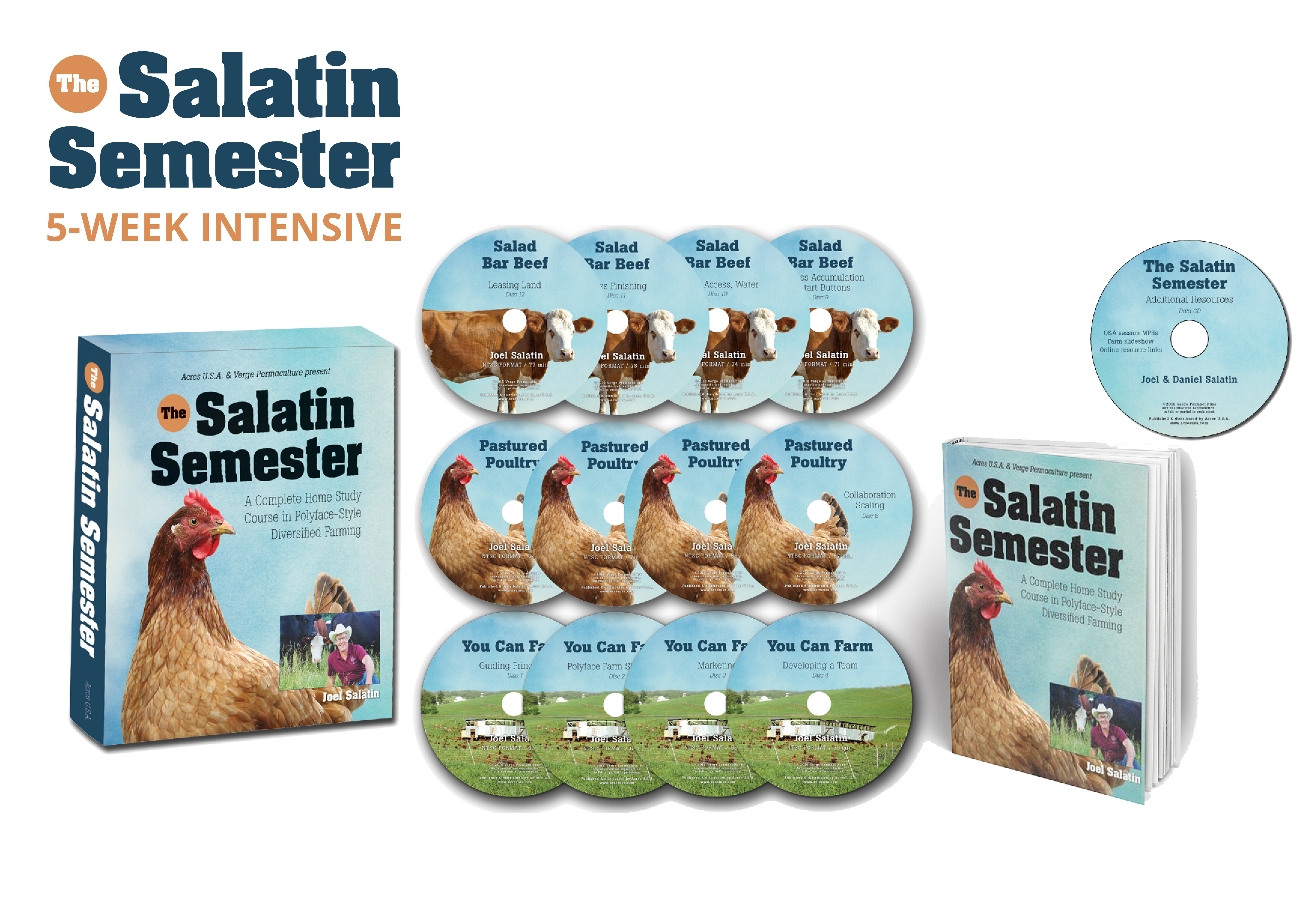 The Salatin Semester 5-Week Intensive: Includes Live Sessions with Joel Salatin (Online)